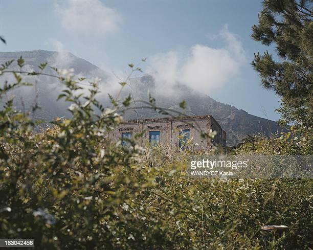 Sicily La Sicile maison dans la végétation