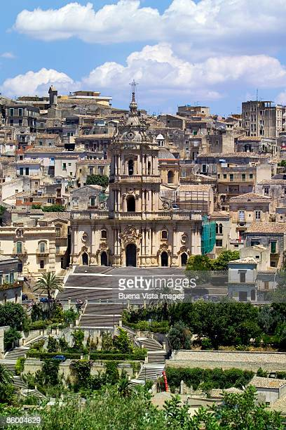Italy. Sicily. Modica. Cathedral of San Giorgio