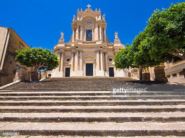 Italy, Sicily, Modica, San Giovanni church, UNESCO World heritage site
