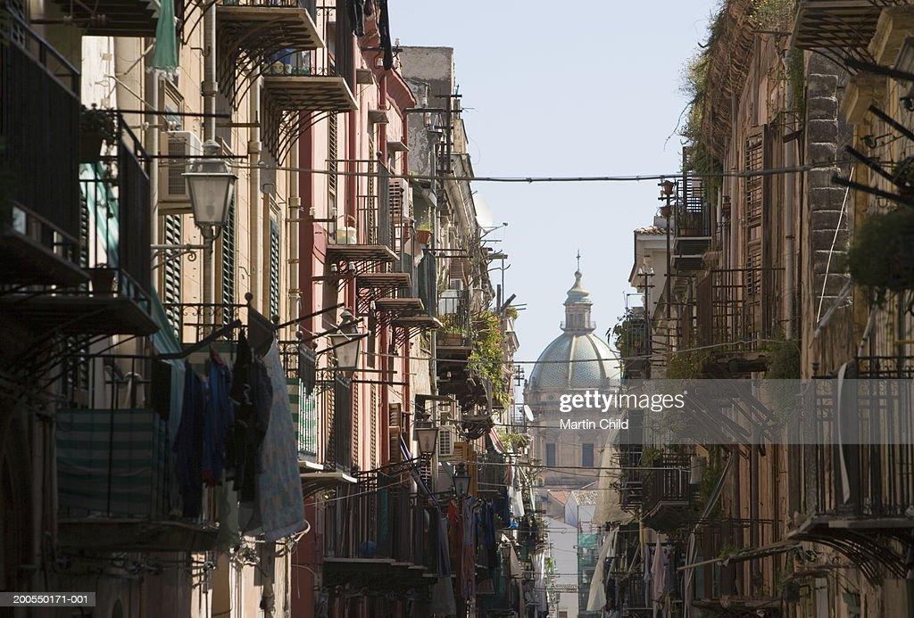 Italy, Sicily, Palermo,  Church of Santa Catarina : Stock Photo