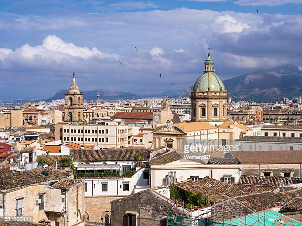 Italy, Sicily, Palermo, Old town, Church of the Gesu right