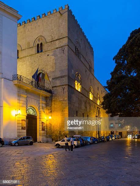 Italy, Sicily, Palermo, Palazzo Chiaramonte