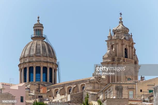 Italy Sicily Ragusa Duomo of San Giorgio Piazza Del Duomo Ragusa Ibla