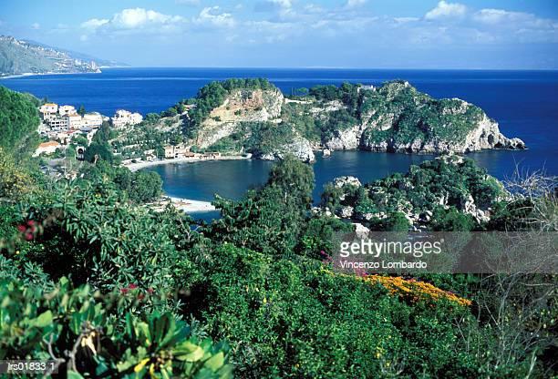 Italy, Sicily, Taormina, Isola Bella