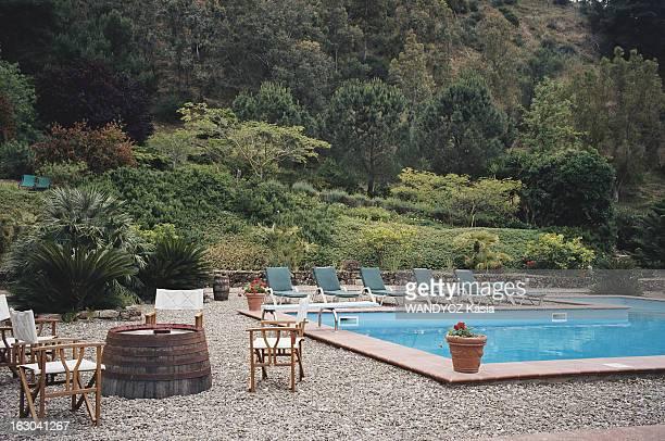 Sicily Vacances en Sicile la Villa Tasca située à l'extérieur de Palerme La piscine a été intégrée à la végétation luxuriante