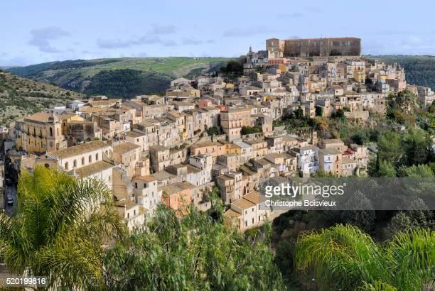 Italy, Sicily, World Heritage Site, Ragusa, Old Town (Ragusa Ibla)