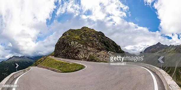 italy, south tyrol, passeier valley, mountain pass timmelsjoch - bergpass stockfoto's en -beelden