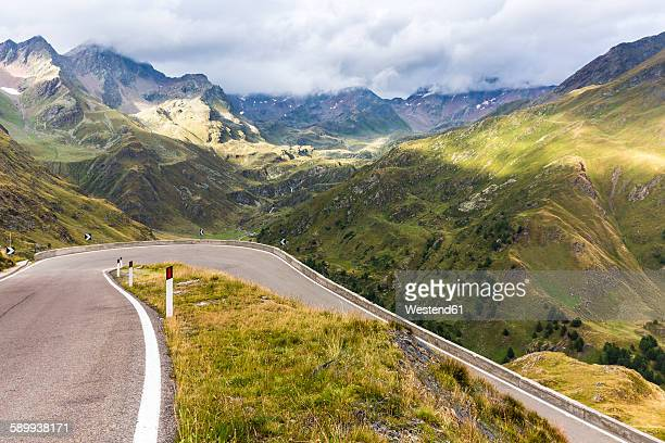 Italy, South Tyrol, Passeier Valley, mountain pass Timmelsjoch