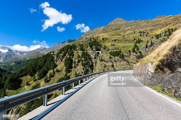 Italy, South Tyrol, Passeier Valley, mountain pass Timmelsjoch