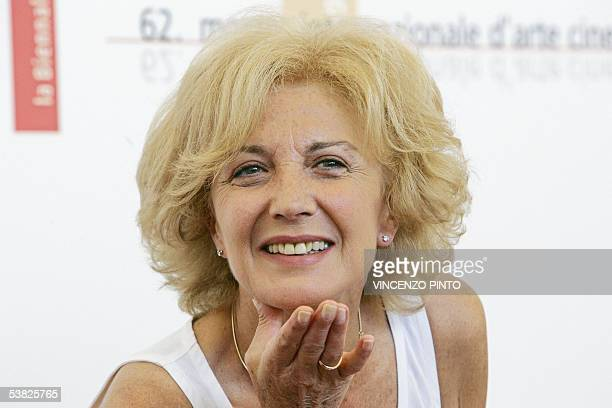 Spanish actress Marisa Parades poses during a photocall of the 62nd edition of Venice International Film Festival at Venice Lido 01 September 2005...