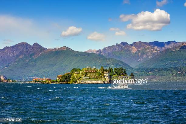 italy, stresa, isola bella - stresa stock pictures, royalty-free photos & images