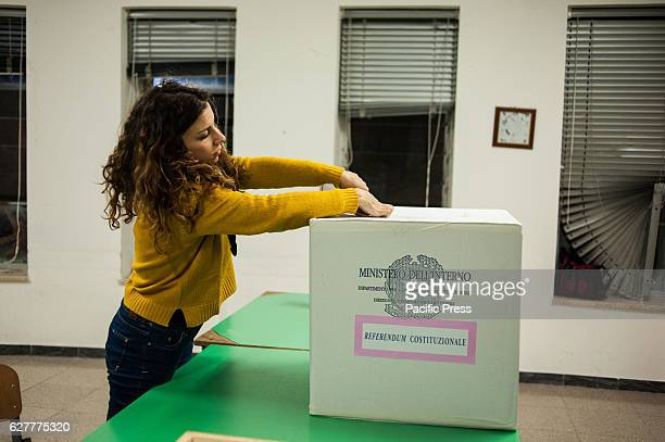Italy the day of the Constitutional Referendum counting operations of the ballots begin in sections around the country where voting starts from 9.00...