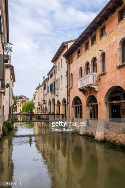 イタリア - トレヴィーゾ、カナレ・デイ・ブラネッリ - トレヴィーゾ市 ストックフォトと画像