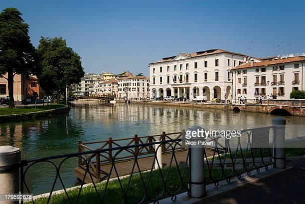 italy, treviso, riviera garibaldi - トレヴィーゾ市 ストックフォトと画像
