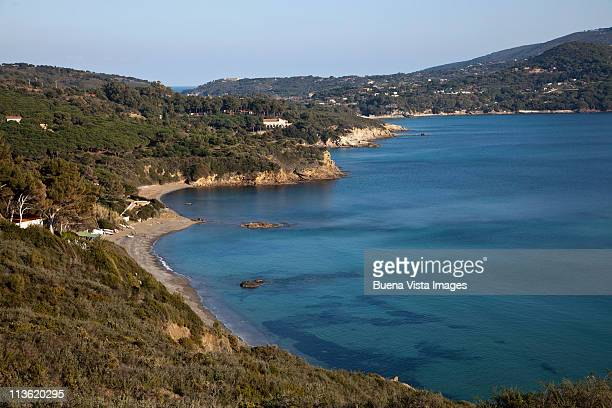 italy, tuscany, elba island (isola d'elba) - isola delba foto e immagini stock