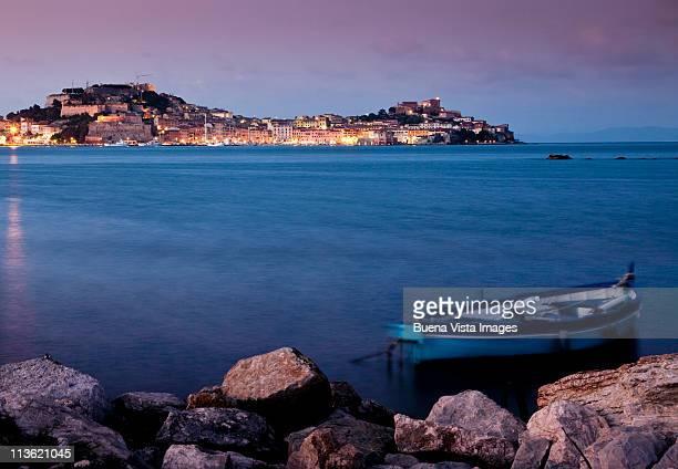 italy, tuscany, isola d'elba (elba island). - isola delba foto e immagini stock