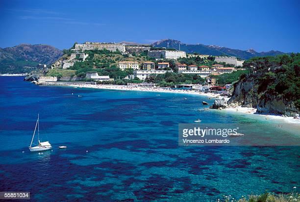 italy, tuscany, isola d'elba, portoferraio - isola delba foto e immagini stock