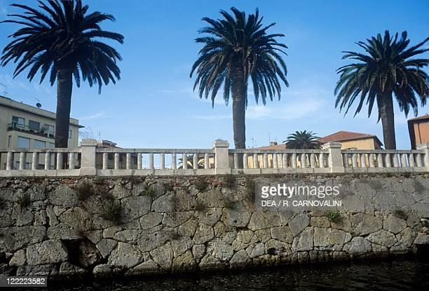 Italy - Tuscany Region. Etruscan walls of Orbetello .
