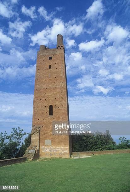 Italy, Tuscany region, San Miniato . Tower of Frederick