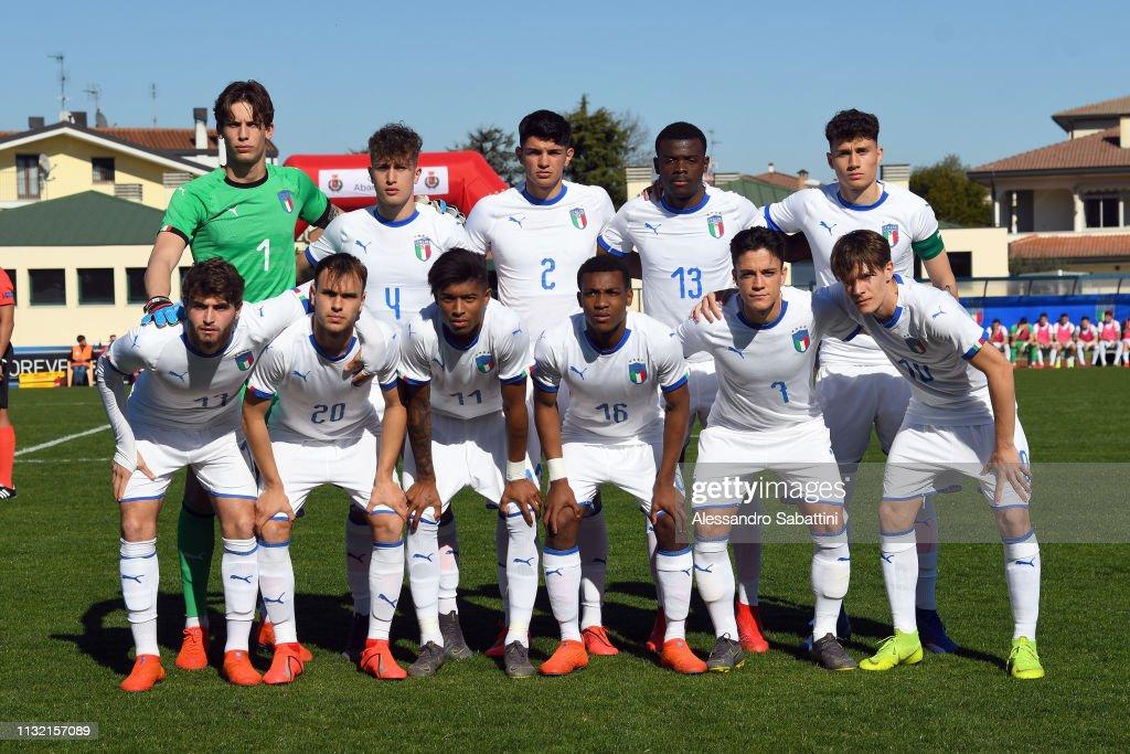 ITA: Italy U19 v Ukraine U19 - UEFA Elite Round