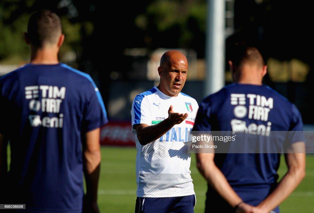 Italy U21 Training Session : Foto di attualità