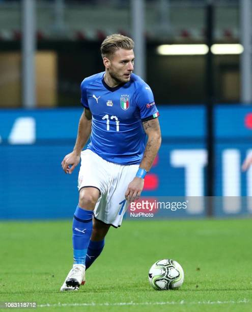 Italy v Portugal - UEFA Nations League League A Ciro Immobile of Italy at San Siro Stadium in Milan, Italy on November 17, 2018