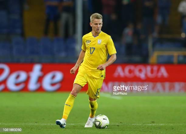 Italy v Ukraine Friendly Oleksandr Zinchenko of Ukraine at Ferraris Stadium in Genoa Italy on October 10 2018