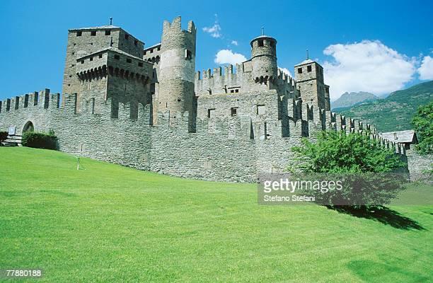 Italy, Valle D'Aosta, Castle di Fenis