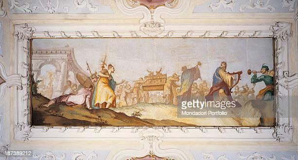 Italy Veneto Piombino Dese Villa Cornaro All Transportation of the Ark of the Covenant