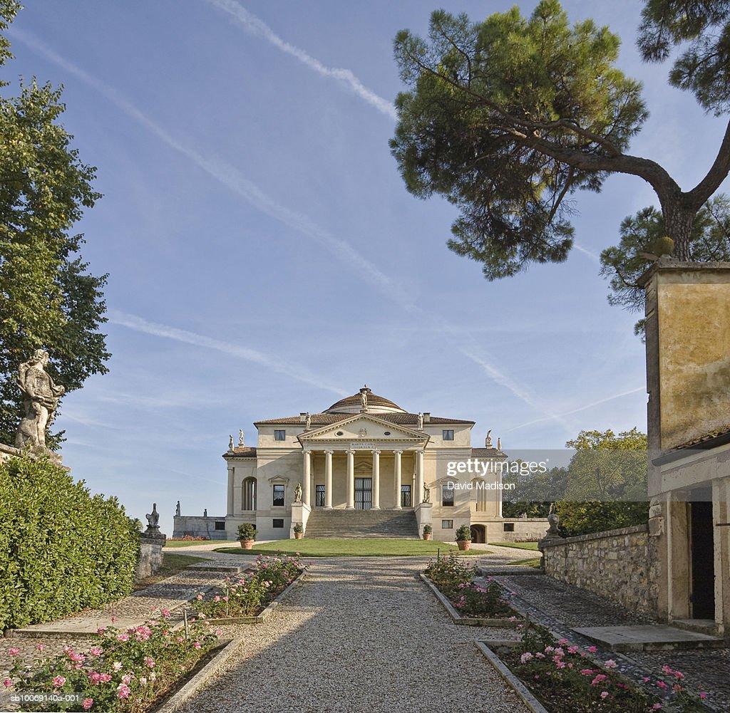 Italy, Veneto, Vicenza, La Rotonda : Stockfoto