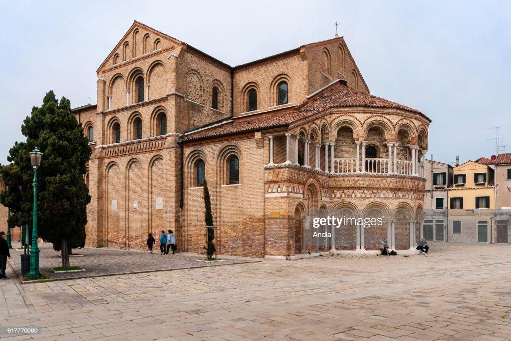 Church of Santa Maria e San Donato. : News Photo