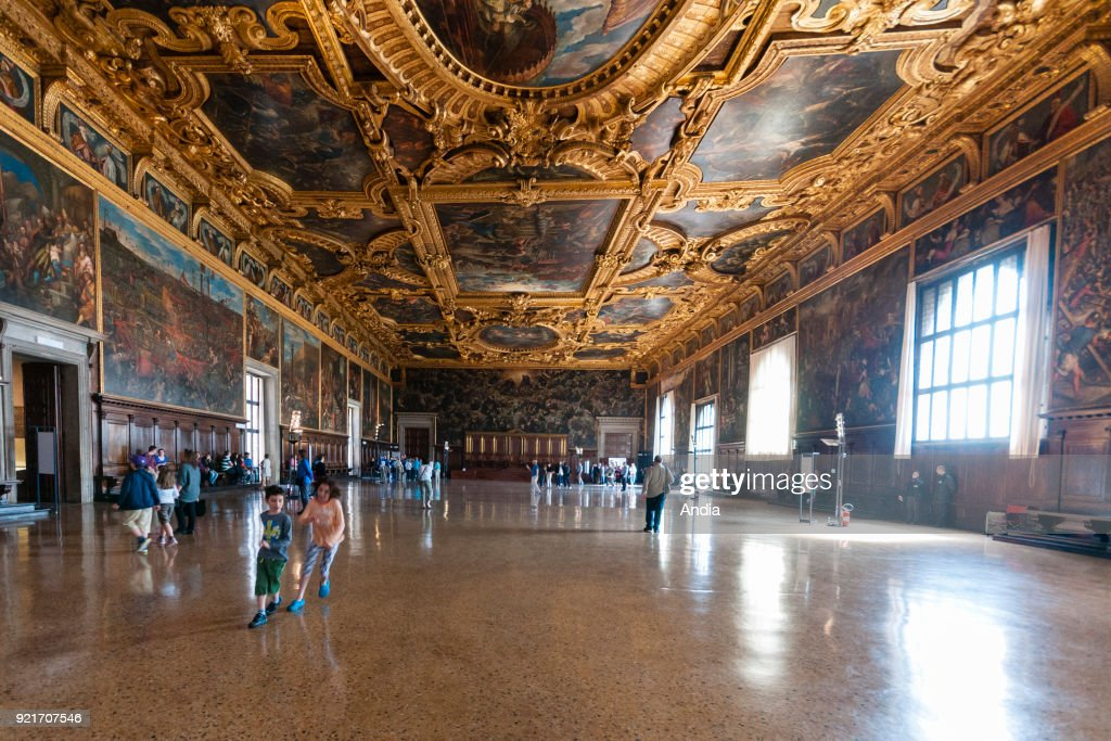 Great Council Hall in the Doge's Palace.