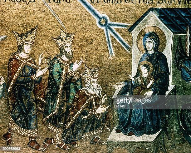 Italy Venice Saint Mark's Basilica Epiphany Mosaic 12th14th centuries
