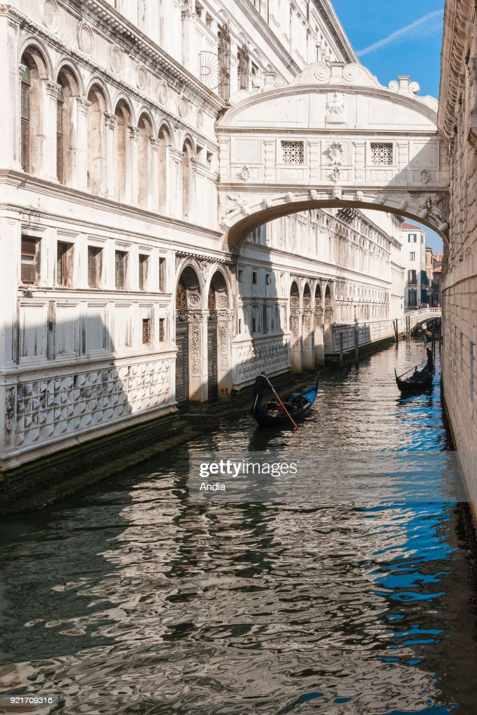 The Bridge of Sighs. : News Photo
