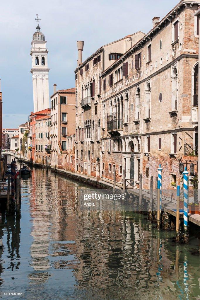 The Rio Dei Greci Canal. : News Photo