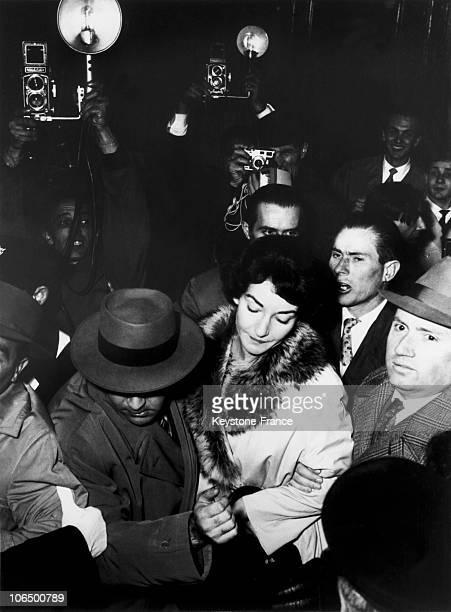 ItalyBrescia Maria Callas Divorce From Giovanni Battista Meneghini November 16Th 1959