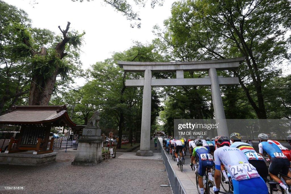 CYCLING-ROAD-OLY-2020-2021-TOKYO : ニュース写真