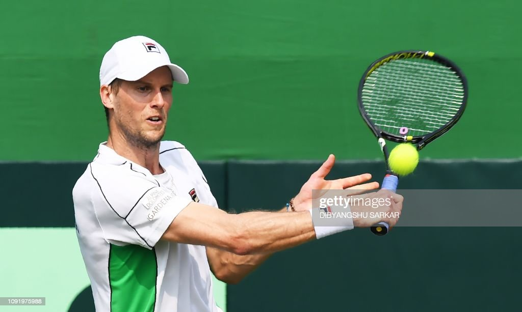 TENNIS-IND-ITA-DAVIS-CUP : News Photo