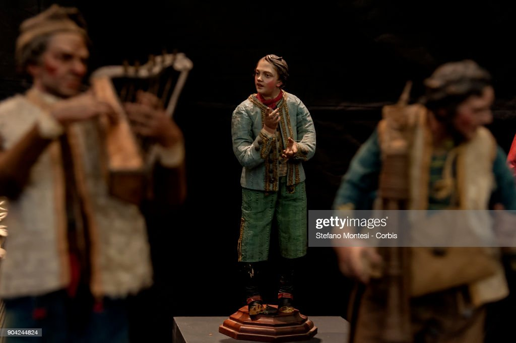 Italy's carabinieri police have recovered about 250 hand-crafted nativity scene figurines (pictured) dating from the 18th century that were stolen from churches and private homes in recent years, on January 12, 2018 in Rome, Italy. The estimated 250 hand-crafted value is EUR 2 million.