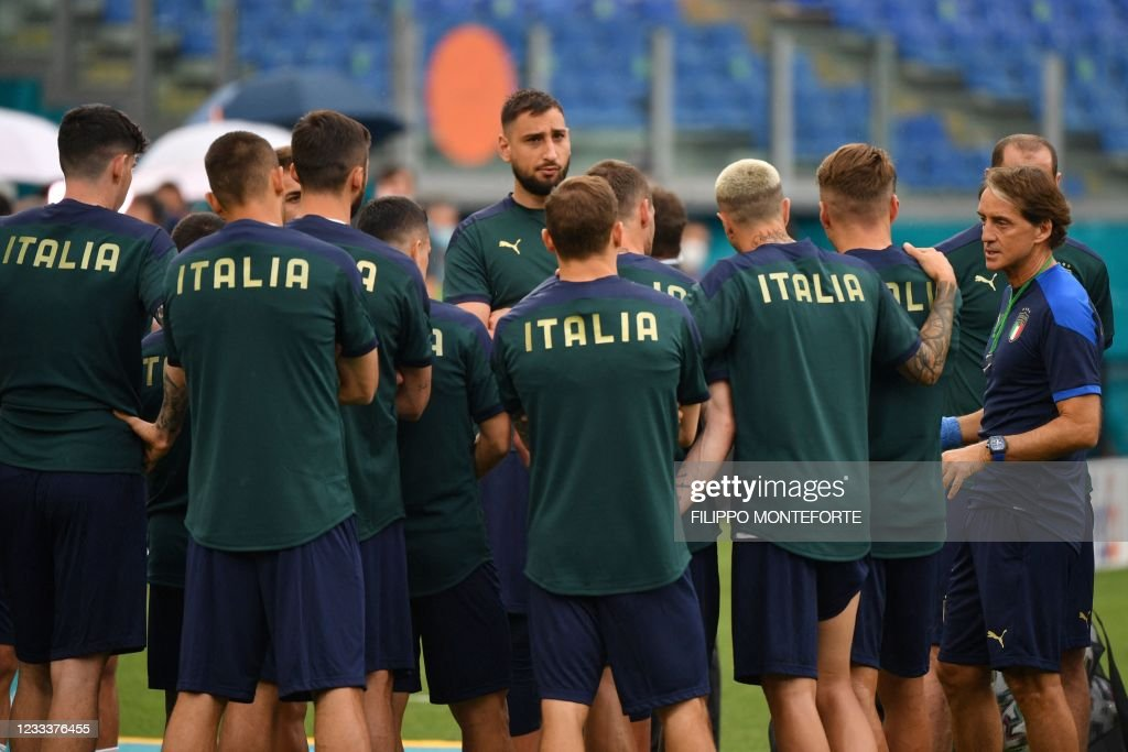 FBL-EURO-2020-2021-ITA-TRAINING : News Photo