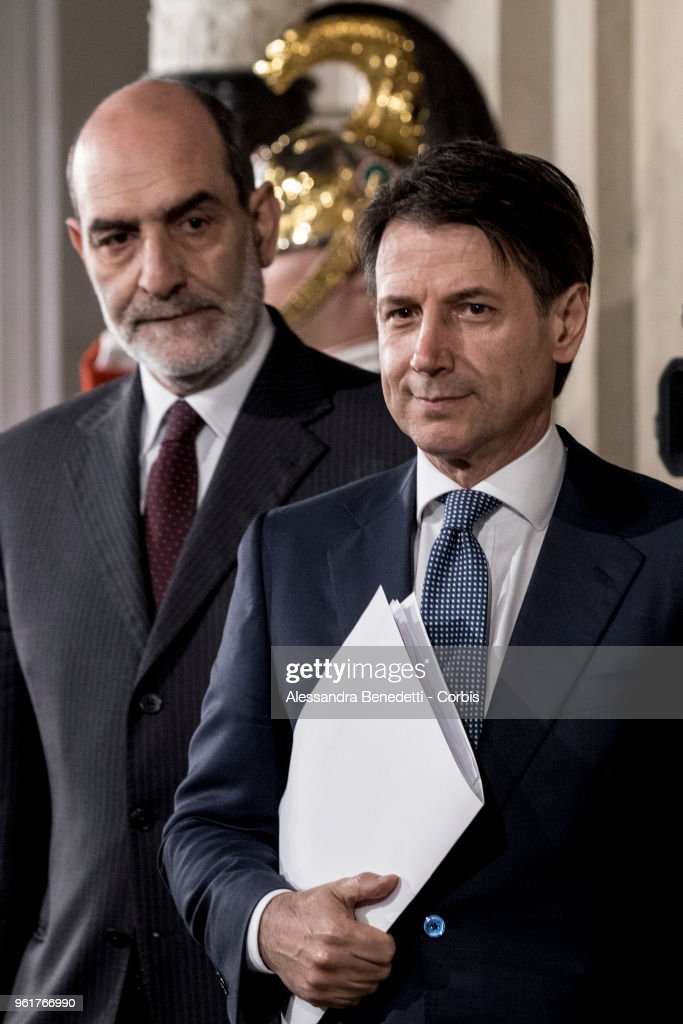 Italy's Designated Prime Minister Giuseppe Conte To Receive Mandate To Form A Government