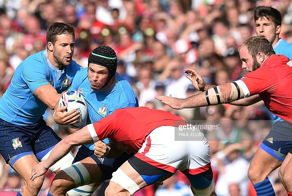 RUGBYU-WC-2015-ITA-CAN-MATCH14 : News Photo