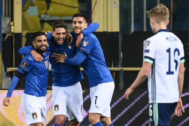 ITA: Italy v Northern Ireland - FIFA World Cup 2022 Qatar Qualifier