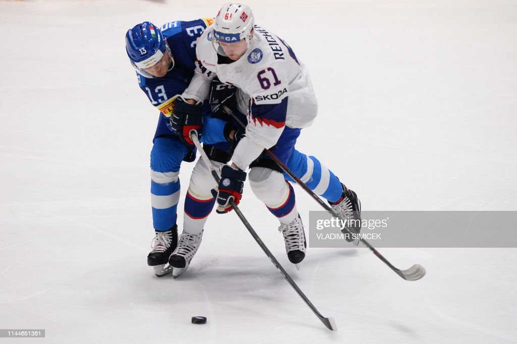 SVK: Italy v Norway: Group B - 2019 IIHF Ice Hockey World Championship Slovakia