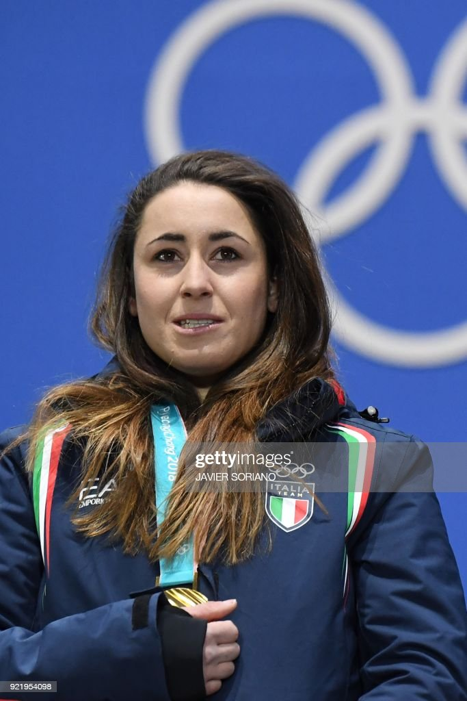 ALPINE SKIING-OLY-2018-PYEONGCHANG-MEDALS : News Photo
