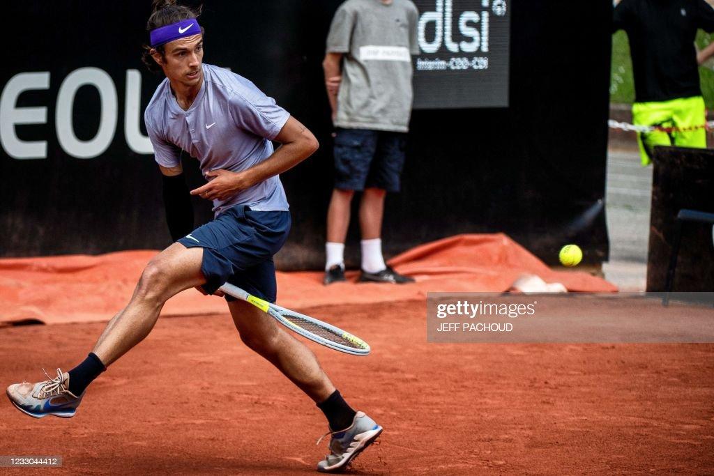 TENNIS-FRA-ATP250-LYON : ニュース写真