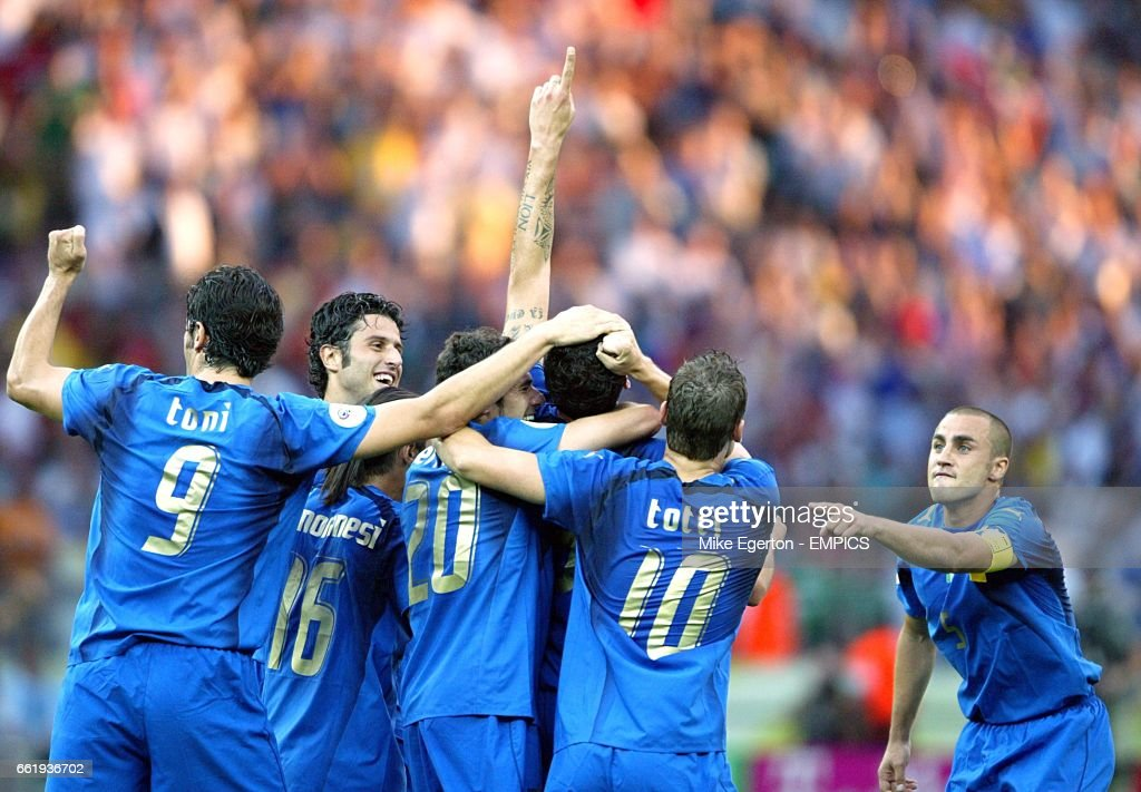 Soccer - 2006 FIFA World Cup Germany - Final - Italy v France - Olympiastadion - Berlin : News Photo