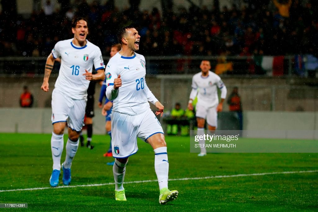 FBL-EURO-2020-QUALIFIER-LIE-ITA : News Photo