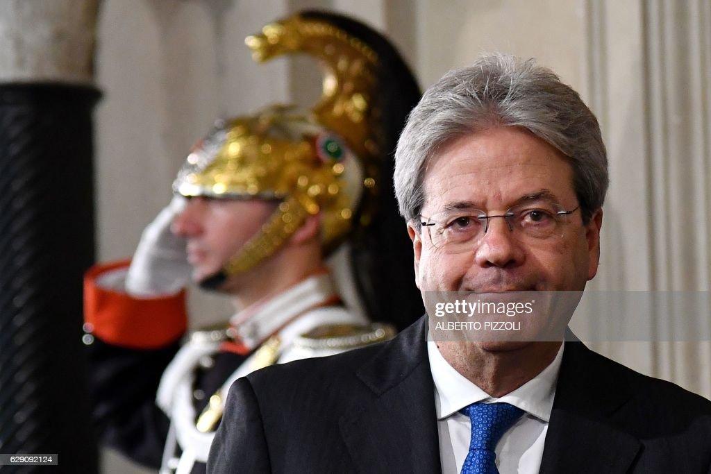 Prime Minister Paolo Gentiloni Press Conference