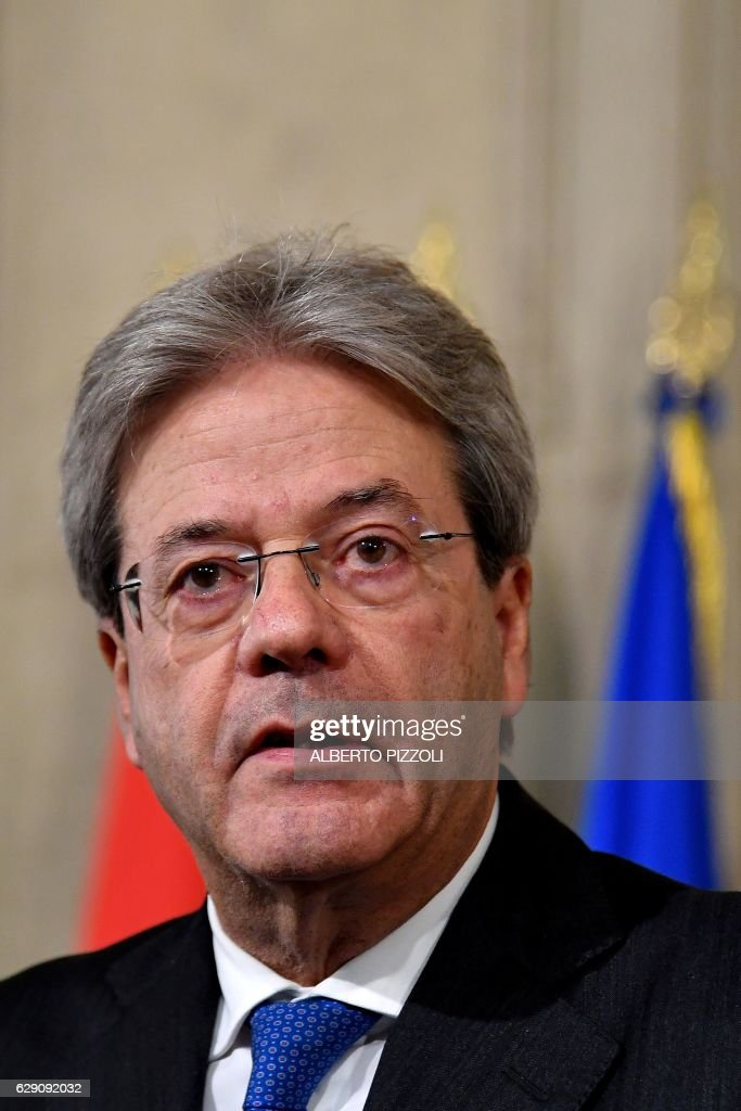 Prime Minister Paolo Gentiloni Press Conference